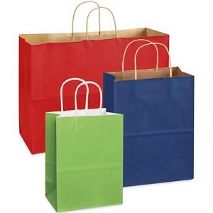 torby papierowe kolorowe